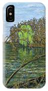 April Willow On Milwaukee River IPhone Case