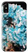 Aqua And White Gemstone IPhone Case