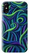 Aqua Tango IPhone Case