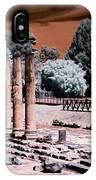 Aquileia, Roman Forum IPhone Case by Helga Novelli