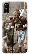 Arab Stonemasons, C1900 - To License For Professional Use Visit Granger.com IPhone Case