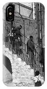 Arab Youths In Bethlehem 1938 IPhone Case