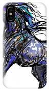 Arabian In Blue IPhone Case