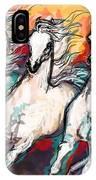 Arabian Sunset Horses IPhone Case