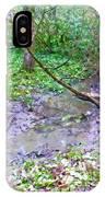 Arboretum Creek Painted IPhone Case