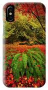 Arboretum Primary Colors IPhone X Case