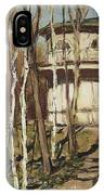 Arbour On The Mound Former Naydenovsky Park Moscow 1920 Apollinaris M Vasnetsov IPhone Case