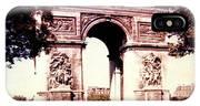 Arc De Triomphe 1955 IPhone Case