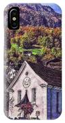 Arcadian Hamlet IPhone Case
