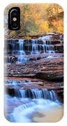 Arch Angel Waterfalls In Zion IPhone Case