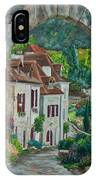 Arch Of Saint-cirq-lapopie IPhone Case