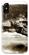 Arch Rock, Santa Cruz, California Circa 1900 IPhone Case