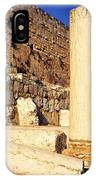 Archaeological Garden Southern Temple Mount IPhone Case