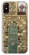 Arched Door And Window IPhone Case