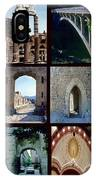 Arches Collage IPhone Case