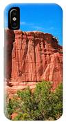 Arches National Park, Utah Usa - Tower Of Babel, Courthouse Tower IPhone Case