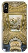 Architectural Artistry Within The Vatican Museum In The Vatican City IPhone Case