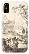 Architectural Fantasy With Roman Ruins IPhone Case