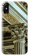 Architecture Columns Palace King Louis Xiv Versailles  IPhone Case