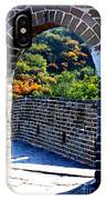 Archway To Great Wall IPhone Case