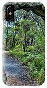 Archway To The Forest IPhone Case