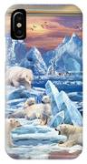 Arctic Bears Coming IPhone Case