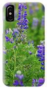 Arctic Lupine Lupinus Ancticus IPhone X Case