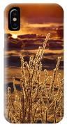 Arctic Sea Smoke Sunrise IPhone Case