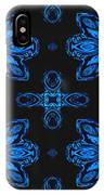 Area Blue Abstract IPhone Case