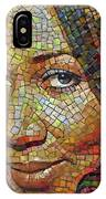 Aretha Franklin Tribute Mosaic Portrait 2 IPhone Case