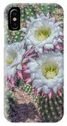 Argentine Giant Echinopsis 5897-041118-1cr IPhone Case by Tam Ryan
