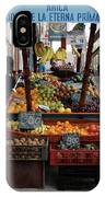 Arica Chile Fruit Stand IPhone Case