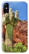 Arizona Saguaro #1 IPhone Case