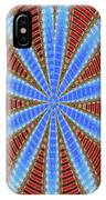 Arizona Saguaro Forest Abstract #2 IPhone Case