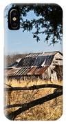 Arkansas Barn 1 IPhone Case