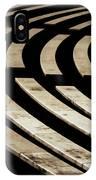 Arlington Cemetery Amphitheater Benches IPhone Case