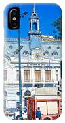 Armada De Chile In Valparaiso-chile  IPhone Case