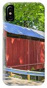 Armstrong/clio Covered Bridge IPhone Case