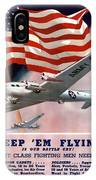 Army Air Corps Recruiting Poster IPhone Case