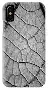 Aroid House Leaf IPhone Case
