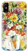 Arrangement IIi IPhone Case