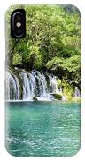 Arrow Bamboo Waterfall IPhone Case