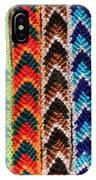 Arrow Pattern Woven Bracelets IPhone Case