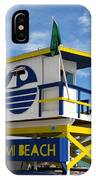 Art Deco Lifeguard Stand IPhone Case