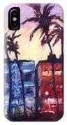 Art Deco Miami IPhone Case