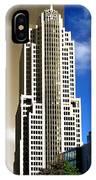 Art Deco Nbc Tower IPhone Case