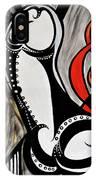 Art Deco Penis Painting IPhone Case