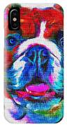 Art Dogportrait IPhone Case