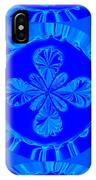 Art In Blue IPhone Case