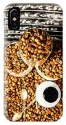 Art In Commercial Coffee IPhone Case